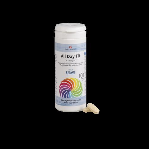 Бодрость на весь день Витамины A-Z компакт в таблетках