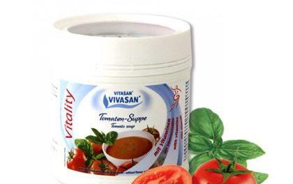 VITALITY Томатный суп с базиликом