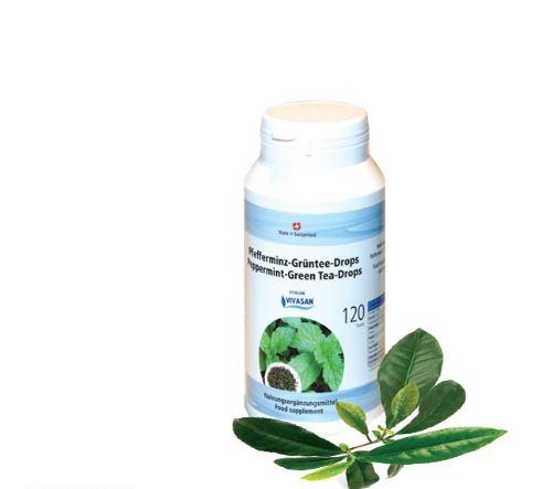 Зеленый чай с мятой перечной в таблетках