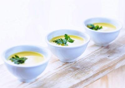 Низкокалорийные супы, соусы, приправы