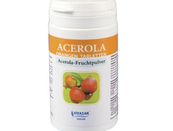 Ацерола (тропическая вишня в таблетках)